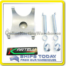 GO KART EXHAUST CRADLE AND SPRINGS TO SUIT