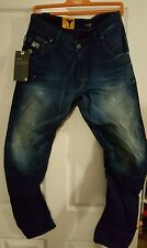 G-Star arc 3D loose tapered jeans new with tags w 31 L 34