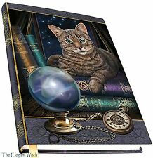 Fortune Teller Cat Book of Shadows Journal Blank Unlined Wiccan Pagan Witch