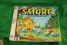 Vintage 1981 Peyo The Smurf Game Milton Bradley 3-D Board Game- Near Complete!