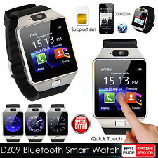 DZ09 Bluetooth Montre Téléphone Intelligent Smart Watch Pour iPhone Android SIM
