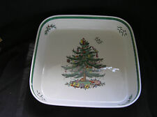 "Spode Christmas Tree 11"" Square Baking Dish, Pre-owned"