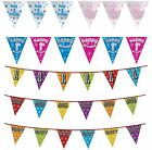1st Birthday Bunting Celebration Party Banners Pennant Flags Age 1 First One Yr