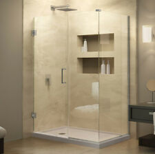 "UnidoorPlus 48"" x 34 3/8"" Shower Enclosure with Stationary Panel"