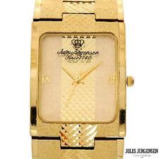 Vintage ~ Jules Jurgensen ~ Gold ArmorScale Bracelet Danish Mechanical Watch