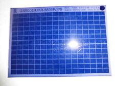 Suzuki GS 500 E Bj: 1994 Microfilm Catalogo ricambi Pezzo di Listello