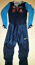 Nike USA 2008 Olympic Track & Field Team Full Body-Length Speedsuit USATF LARGE