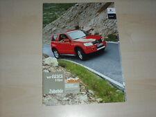 44438) Suzuki Grand Vitara Zubehör Prospekt 09/2007