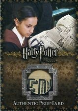 ARTBOX HARRY POTTER AND THE ORDER OF THE PHOENIX DAILY PROPHET PROP CARD P10