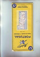 carte michelin routiere : Portugal / 37 --- 1/500 000 -   de 1967