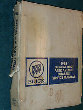 1985 BUICK PARK AVENUE / ELECTRA / SHOP MANUAL / ORIGINAL G.M. BOOK