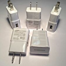 5X - 2AMP USB POWER ADAPTER WALL CHARGER for SAMSUNG GALAXY S4 S5 S6 NOTE 3 4