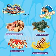 Set of 4 Sea Creatures Animal Part I 4D 3D Puzzle Model Kit Toy
