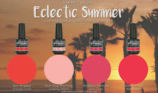 "BRAND NEW ""ECLECTIC SUMMER""  4 BEAUTIFUL GELEGANCE GEL POLISH COLORS"