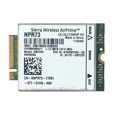 Dell Wireless DW5808e 4G LTE EM7355 WWAN Module Card 2NDHX NPR73 PN01C 4GP3D