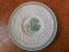 """Wedgwood Green Torbay Patrician creamware 5"""" demitasse saucer only A7865"""