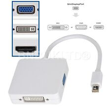 Mini Display Port DP to HDMI VGA DVI Converter for Mac Book MacBook Pro