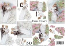 Wedding Designs 3D Decoupage, Card Making, Paper Crafts *CUTTING REQUIRED*