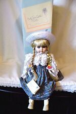 "BETTY JANE CARTER MUSICAL DOLL ""ERIKA"" PLAYS ""APRIL LOVE"" W/BOX"