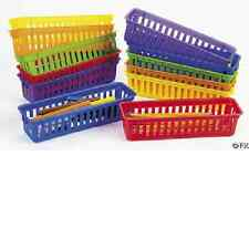 Classroom Pencil/Marker Baskets 12 pc Teacher Supplies (62/16)