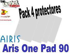"""Pack 4 Protectores de pantalla para Tablet Airis one pad 90 9"""" UNIVERSAL ONEPAD"""