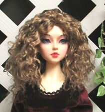 "Doll Wig, Monique Gold ""Ellowyne Rose"" Size 8/9 in Ginger Brown"