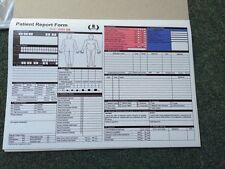 patient report form  - ambulance, medic, first aid