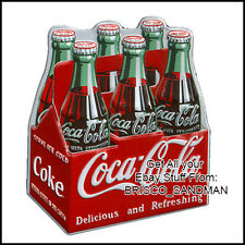 Fridge Fun Refrigerator Magnet COCA COLA Six Pack Specialty Die Cut