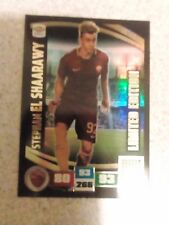 ADRENALYN 2016-17 calciatori panini limited edition card EL SHAARAWY AS ROMA
