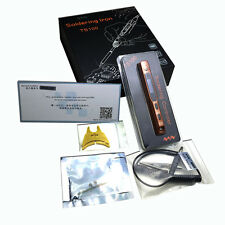 TS100 Digital OLED Programmable Interface DC5525 Soldering Iron With B2&BC2 Tips