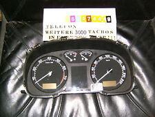 Velocímetro combi instrumento skoda Octavia 1u0920801b bj09 del velocímetro cluster Clock