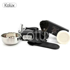 Classic Men's wet shaving kit badger Brush DE safety razor a complete package