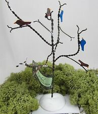 "Miniature Fairy Garden 7"" WIRE TREE WITH BIRDS faerie dollhouse Mini NEW"