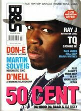 50 Cent on Blues & Soul Magazine Cover 2005    Marva Whitney    Martin Solveig