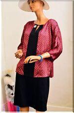 Robe noire colorée Promod  taille 42/44  ref  1216111