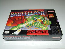 BATTLECLASH for SNES NEW OLD STOCK SEALED SUPERB RARE IN THIS CONDITION MINT!