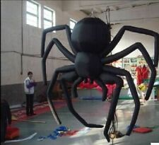 Giant Party Decoration Halloween Inflatable Hanging Spider for Sale 5m t