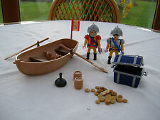 Playmobil Pirate Treasure Transporter with Row Boat (4295)