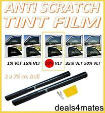 ANTI-SCRATCH PROFESSIONAL CAR WINDOW TINT FILM DARK SMOKE BLACK  20% 76cm x 6M