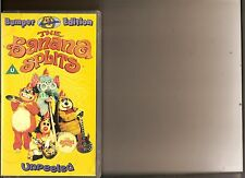 BANANA SPLITS UNPEELED BUMPER EDITION VIDEO VHS  RARE RETRO OVER 2 HOURS