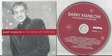 Barry Manilow - In the Swing of Christmas US CD 12 tracks EX Condition