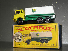 Matchbox Lesney 1-75 series BP Tanker No 25 C mint with original box