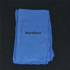 NEW BLUE HUCK  SURGICAL TOWELS IN A BAG OF 10 LINT FREE  COTTON CLOTH CLEANING