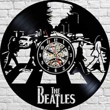 BEATLES_Exclusive wall clock made of vinyl record_GIFT_DECOR 271