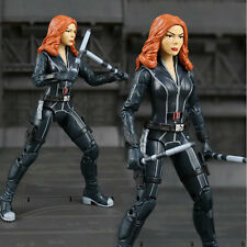 Marvel Captain America Civil War Black widow PVC Action Figure Collectible Model