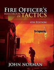 Fire Officer's Handbook of Tactics by John Norman (2012, Hardcover, Revised)