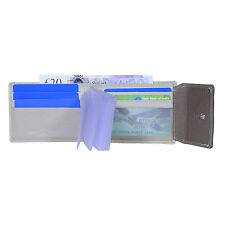 Hide & Sleek Men's Leather Wallet Credit Card Holders Bi-fold Designer