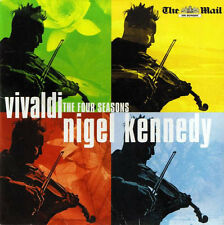 Vivaldi CD Nigel Kennedy, English Chamber Orchestra ‎– The Four Seasons - Promo