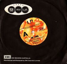 "FISCHER-Z - SO LONG  7"" 45RPM VINYL SINGLE RECORD Australia"