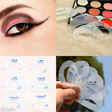 12Pcs Eyeliner Mould Eyeshadow Smokey Cat Quick Eye Women Makeup Useful Tools